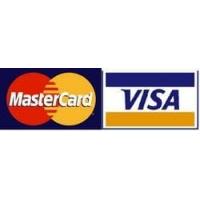 Доступна оплата картами Visa и  Master card