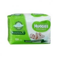 Салфетки влажные Huggies ultra comfort aloe (128 шт.)