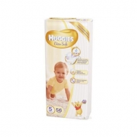 Подгузники Huggies Elite Soft 5 (12- 22 кг) 56 шт