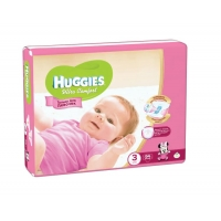 Huggies Ultra Comfort для девочек 3 (5-9 кг) 94 шт.