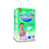 Подгузники Baby Joy 4 Large (10-18 кг.) 38 шт. mega  упаковка