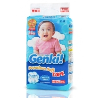Подгузники Genki M 64 шт (6-11 кг)