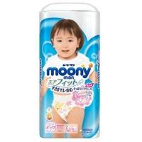 Подгузники-трусики MOONY (Муни) 12-22 кг. XL 38 шт. для девочек