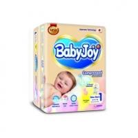 Baby Joy подгузники 1NB (0-4 кг.) 52 шт mega упаковка
