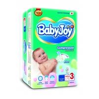 Подгузники Baby Joy 3 Medium (6-12 кг.) 42 шт. mega  упаковка