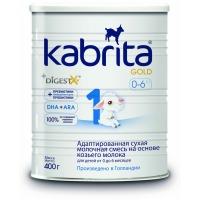 Kabrita Gold 1 на основе козьего молока 400 г смесь молочная 1, с 0 до 6 мес.