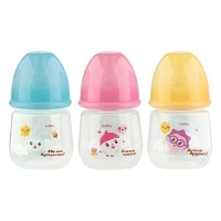 Lubby Малышарики 125 мл бутылочка д/кормления (20900, силикон, ПП, 0+)  (Таиланд)