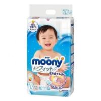Подгузники Moony (Муни) L 54 шт (9-14 кг) ( с логотипом Disney)