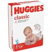 Подгузники Huggies Classic 3 ( 4-9 КГ) 78 шт.