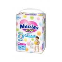 Merries: (Мерис)Трусики универсальные L44, 9-14кг.