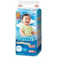 Подгузники Genki L 54 шт (9-14 кг)