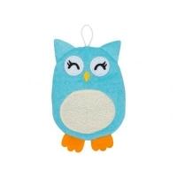 Махровая мочалка-рукавичка Baby Owl. Хлопковая ткань roxy kids