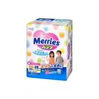 Мerries (Мерис) Трусики-подгузники для детей  XXL 15-28 кг, 26 шт.