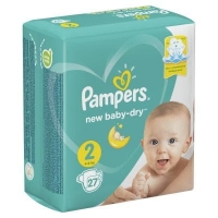 Подгузники Рampers Active Baby Dry 2 (4-8 кг.) 27 шт