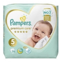 Подгузники Pampers Premium Care 5 (11+ кг.) 28 шт.