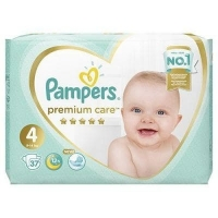 Подгузники Pampers Premium Care 4  (9-14 кг.) 37 шт.