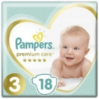 Подгузники Pampers Premium Care 3 (6-10 кг.) 18 шт.
