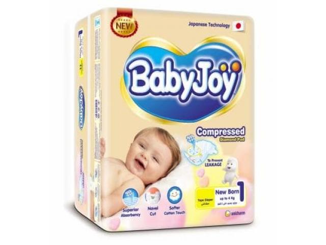 Подгузники Baby Joy (Бэби джой) 1NB (0-4 кг.) 68 шт. jumbo упаковка