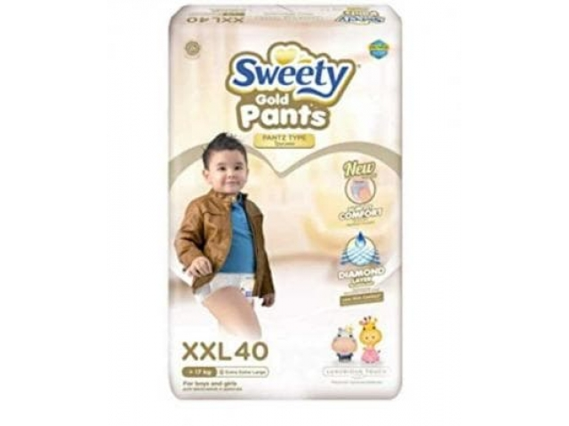 Sweety (Свити) Pantz Gold XXL 40 шт. (17-25 кг.). трусики