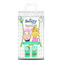 Sweety (Свити) Pantz Gold XXl 28  шт. ( 17-25 кг.). трусики