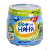 Фруто Няня пюре брокколи 80 гр.