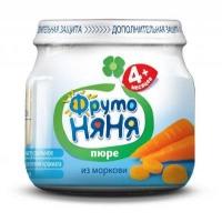 Фруто Няня пюре морковное 80 гр.