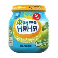 Фруто Няня Пюре из яблок натур. 100 гр.