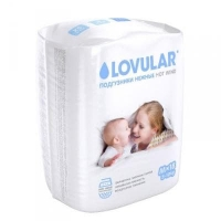 Подгузники Lovular Hot Wind M 5-10 кг 18 шт/уп