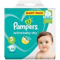 Подгузники Рampers Active Baby Dry Junior 5 (11-16 кг.) 64 шт