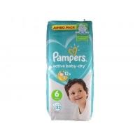 Подгузники Рampers Active Baby Dry Extra Large 6 (13-18 кг.) 56 шт