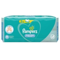 Pampers влажные  салфетки Fresh Clean 2 *52