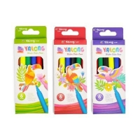 Yalong water color pens фломастеры 6 цветов
