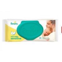 Pampers влажные салфетки new baby Sensitive 54