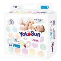 "Подгузники ""YokoSun"" Comfort   S26 (до 6 кг)"