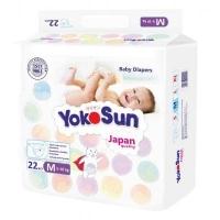 """Подгузники """"YokoSun"""" Comfort  M22 (5-10 кг)"""