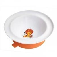 Lubby Весёлые животные тарелка с присоской (13954)