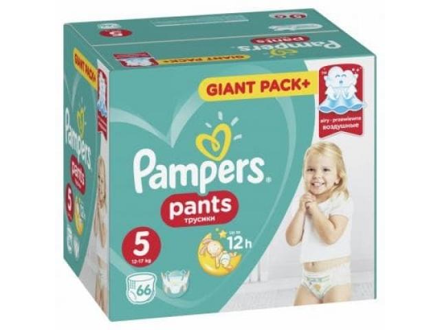 Pampers трусики Pants Extra Large 5 (12-17 кг.) 66 шт.