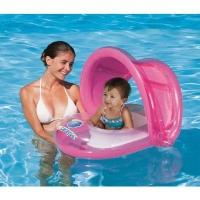 Круг для плавания с сиденьем и тентом 80*85см. от 1-2 л.