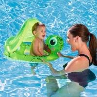 Круг для плавания с сиденьем и тентом Черепаха 74-66см. от 1-2 л.