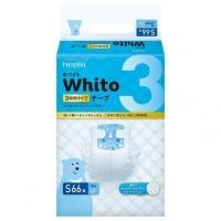 Подгузники Whito 3 часов S 4-8 кг 66 шт