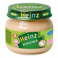 Heinz пюре курочка  80г.