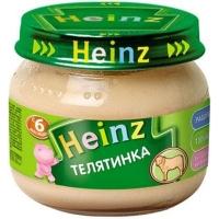 Heinz пюре Телятинка  80г.