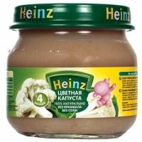Heinz пюре Цветная капуста  80г.