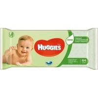 Салфетки влажные Huggies ultra comfort aloe (64 шт.)