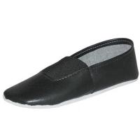 Туфли  (чешки)  гимнастические детские ИК черные