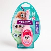 Лонг Вита Angry Birds Hatchilings детская зуб. щетка-прорезыватель 0+