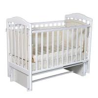 """Кровать детская """"Алита-3/5"""" (белый) 01-00117"""