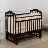 """Кровать детская Incanto """"Pali"""", (венге), с мишкой, состав - дерево (береза), маятник (попе"""