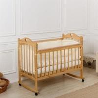 """Кровать детская Incanto """"Pali"""", (орех), с мишкой, состав - дерево (береза), колесо-качалка"""