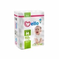 "Подгузники ""Mello"" размер М (6-10 кг.) 62 шт."